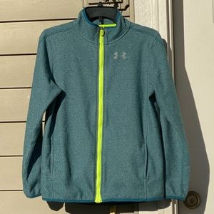 Youth Under Armour Zip Up Jacket